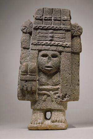 Maize Deity (Chicomecoatl), 15th–early 16th century Mexico; Aztec