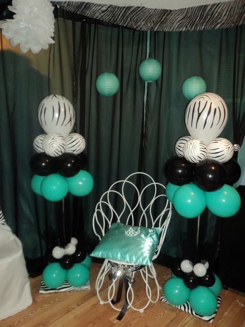 Tiffany Gone Wild Bridal Wedding Shower Party Ideas