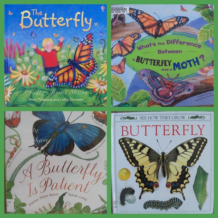 Butterfly BooksButterflies Crafts, Crafty Mom, Long Butterflies, Butterflies Book, Mom Shared