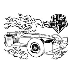 Top 25 Free Printable Hot Wheels Coloring Pages Online ...