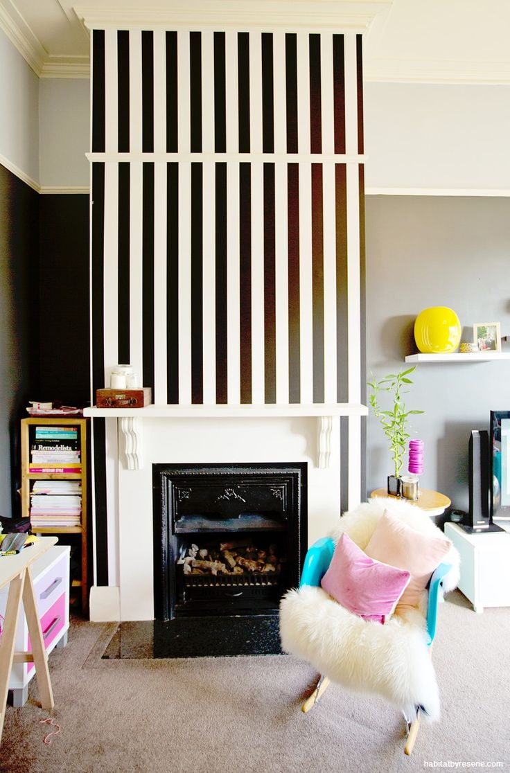 The most daring colour trend in years black habitat by resene - Homeowner Annick Did All The Painting Herself In This Character Filled Home Here She Mixed A Moody Feature Wall In Resene Fuscous Grey Bottom And Resene