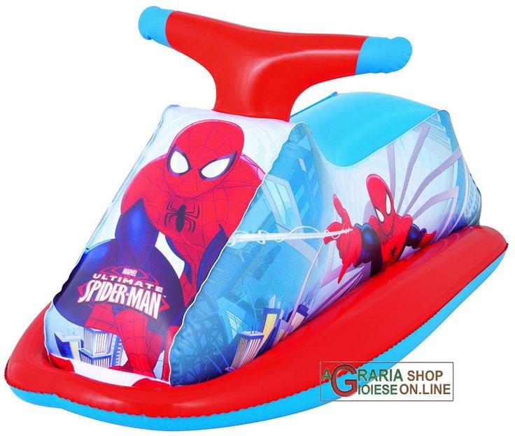 BESTWAY 98012 MOTO ACQUA SPIDERMAN GONFIABILE CM 89X46h. http://www.decariashop.it/giochi-gonfiabili/20873-bestway-98012-moto-acqua-spiderman-gonfiabile-cm-89x46h-6942138912098.html