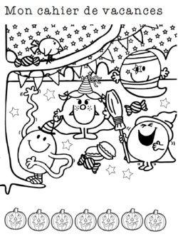 Cahier de vacances - Halloween