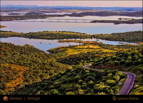 Alqueva lake, Alentejo. #Portugal