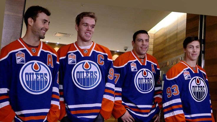 Connor McDavid was named the Oilers 15th captain in their franchise history...with Jordan Eberle, Milan Lucic , and Ryan Nugent-Hopkins