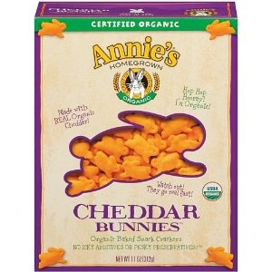 Annie's Homegrown Organic Cheddar Bunnies 11 Ounce Boxes (Pack of 4)Organic Cheddar, 11 Ounce, Snacks Food, Bunnies 11, Cheddar Bunnies, Homegrown Organic, Annie'S Homegrown, Boxes Pack, Ounce Boxes