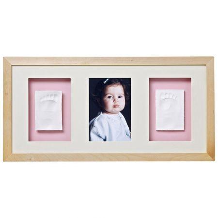 Baby Memory Prints Trio Çerçeve - Natural