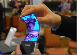 Samsung's latest flexible display gadget