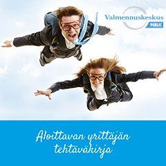 Valmennuskeskus Public, tehtäväkirja aloittaville yrittäjille. Kuvat: shutterstock.com