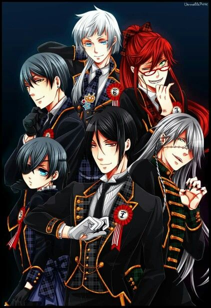 Best 25 Black Butler Characters Ideas On Pinterest