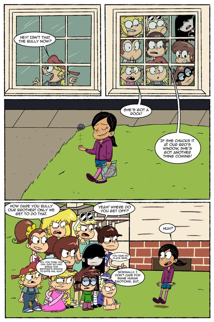 Right Away (3) by RetroNeb | The Loud House Ronnie Anne and