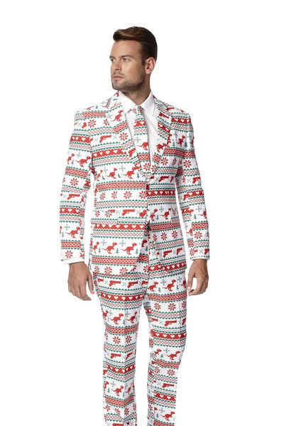 THE O.G. KRINGLE UGLY CHRISTMAS SWEATER SUIT | Get all your holiday gear, ugly sweaters, and all manner of outrageous threads at Shinesty.com