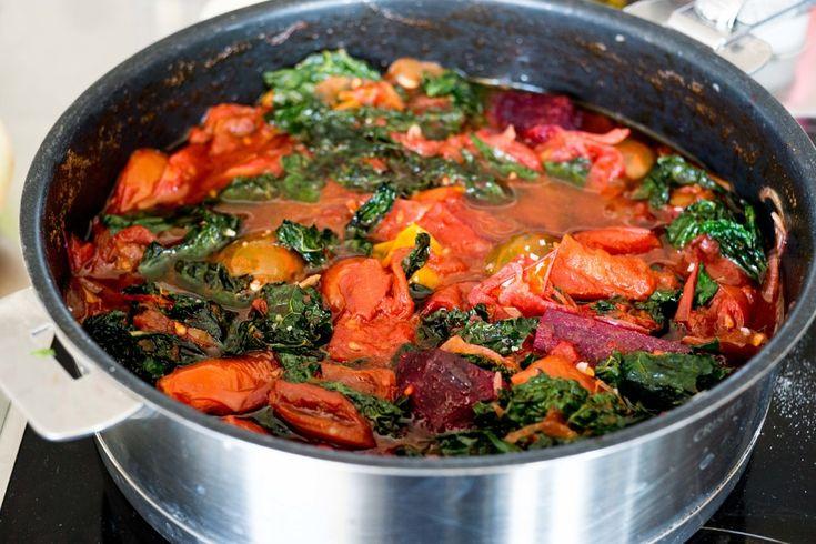 Tomato & Kale Sauce
