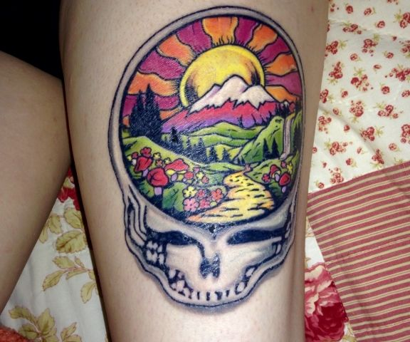 66-grateful dead tattoos