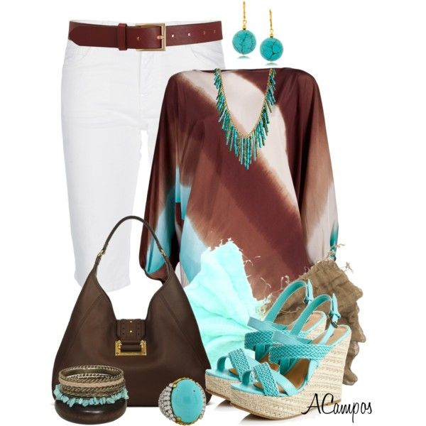 With My Bermuda Shorts, created by anna-campos on Polyvore