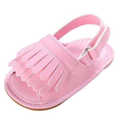Oferta: 3.33€. Comprar Ofertas de zapatos bebe primeros pasos, Switchali Recién nacido bebe niña verano borla Suela blanda princesa Zapatillas ninos vestir cas barato. ¡Mira las ofertas!