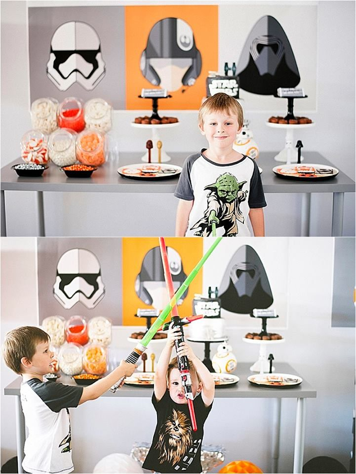 Star Wars Party feature