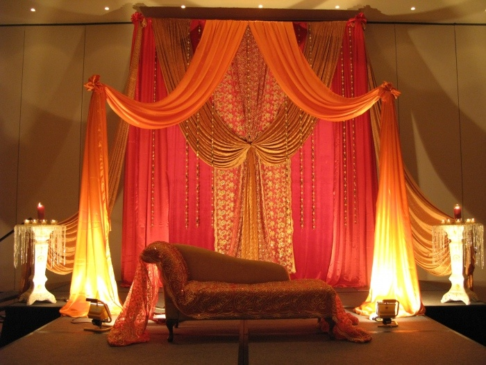 Very pretty - for the sangeet/reception?