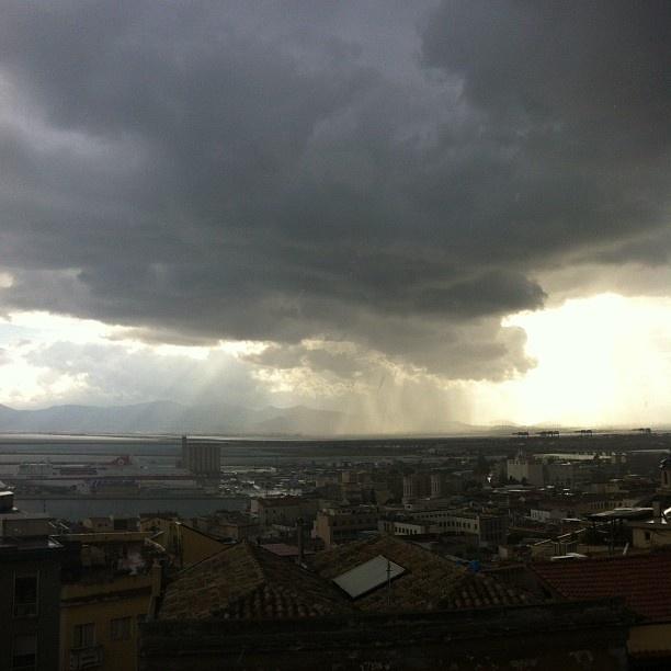 Stormy weather - Bastione Saint Remy (Cagliari)
