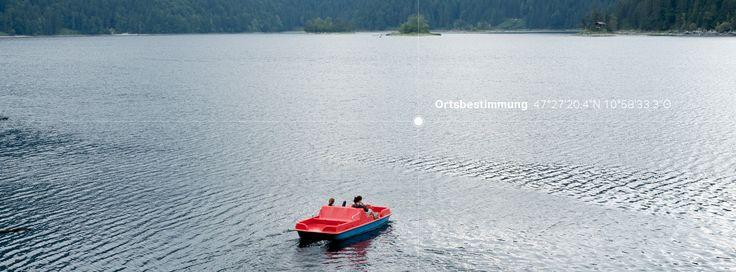33/53 ein Tretboot in Seenot.   Photo: Schreyer David Bildkunst Text: Julia Warner and Erik Lopez Plattform: Readymag  #madewithreadymag #freilandgruppe