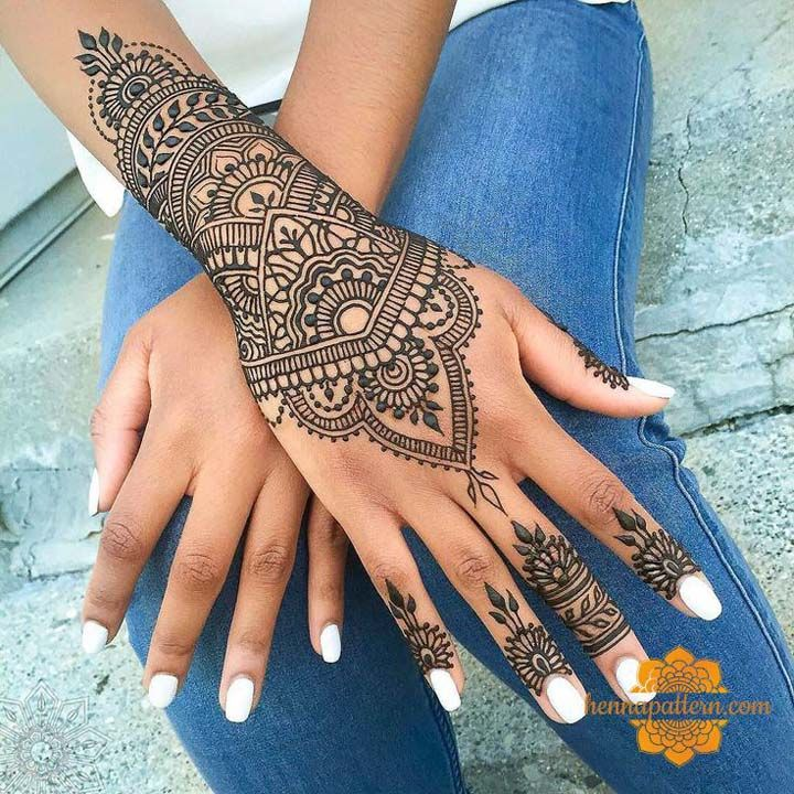 Where To Get A Henna Near Me Easy Henna Designs Tattoo