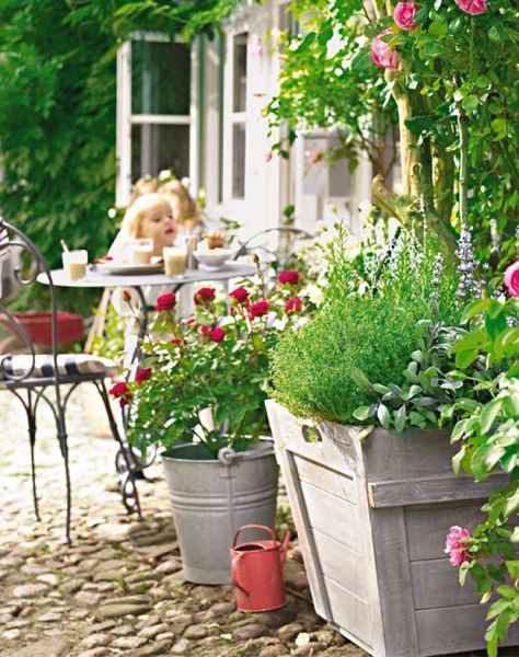 88 best Balkon, Terrasse und Garten dekorieren images on Pinterest - terrassen sichtschutz deko varianten