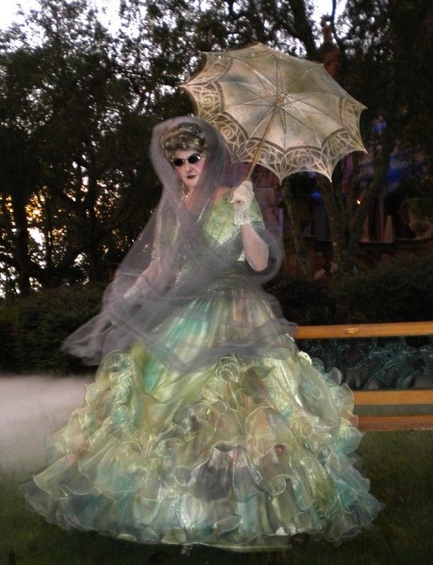 Ghost costume from Disneyland...from the Haunted Mansion--- THIS WOULD MAKE A COOL COSTUME!