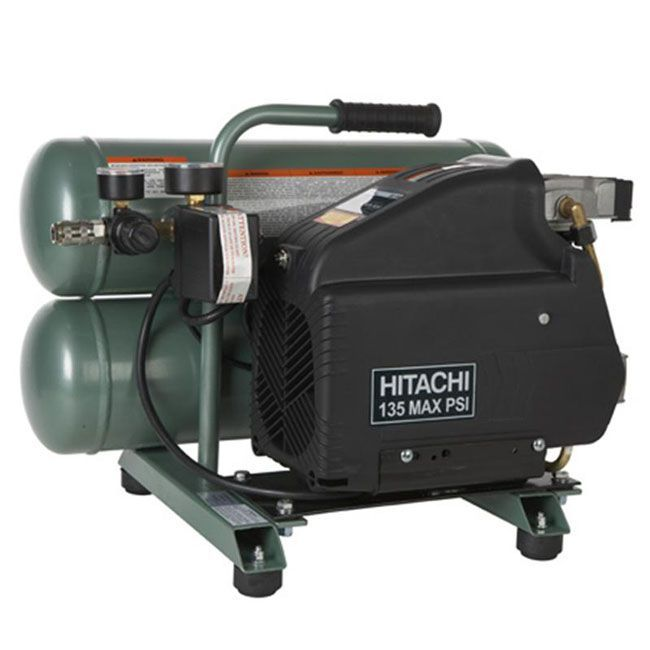 Hitachi EC89 4-gallon Portable Electric Air Compressor