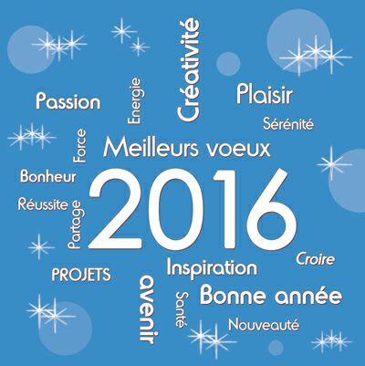 Célèbre Plus de 25 idées uniques dans la catégorie Voeux 2016 sur  VF27