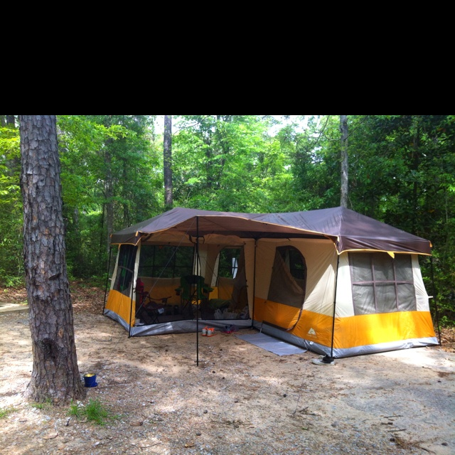 New tent! Canu0027t wait to go c&ing for a week of relaxation! & 231 best Tents images on Pinterest | Tent camping Camping stuff ...