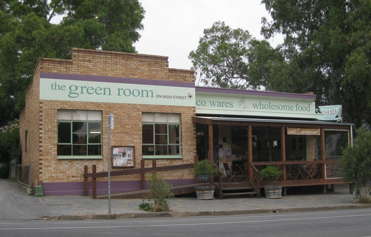 """The Green Room on High Street"", Willunga, South Australia.  Fabulous kids play areas (inside and out) Great food, fresh organic juices and milk shakes..."