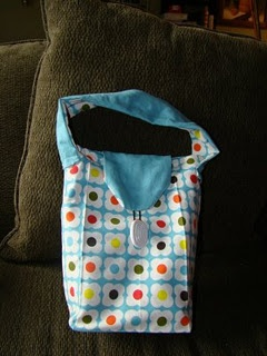 Reusable Lunch Bag Made From Tea Towels