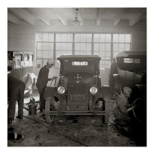 1000+ images about Vintage Garages & Auto Repair Shops on ...