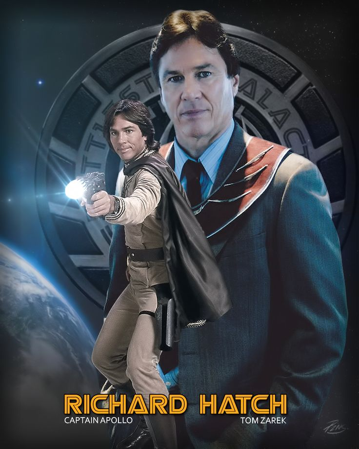 R.I. P. Richard Hatch who Played Apollo and Tom Zarek in Battlestar Galactica ;-)~❤~