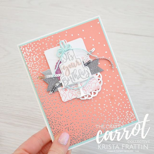 Tabs for Everything - Crafty Carrot Co blog hop - Krista Frattin | Stampin' Dolce