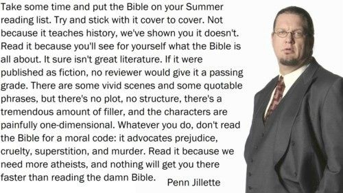 Read the Bible! Is it really true word for word?  Were you lying when you said you read it? Read the Bible!