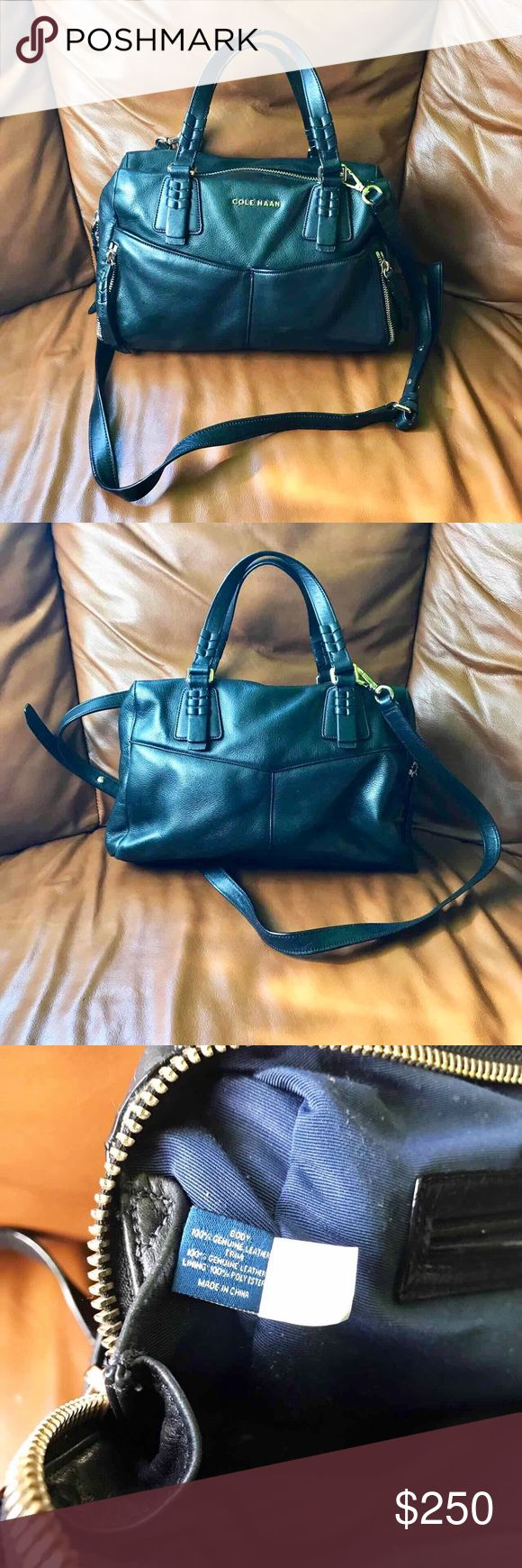 Cole Haan Leather Purse Good Condition. Removable adjustable shoulder straps. No trade. Open to offer. Cole Haan Bags