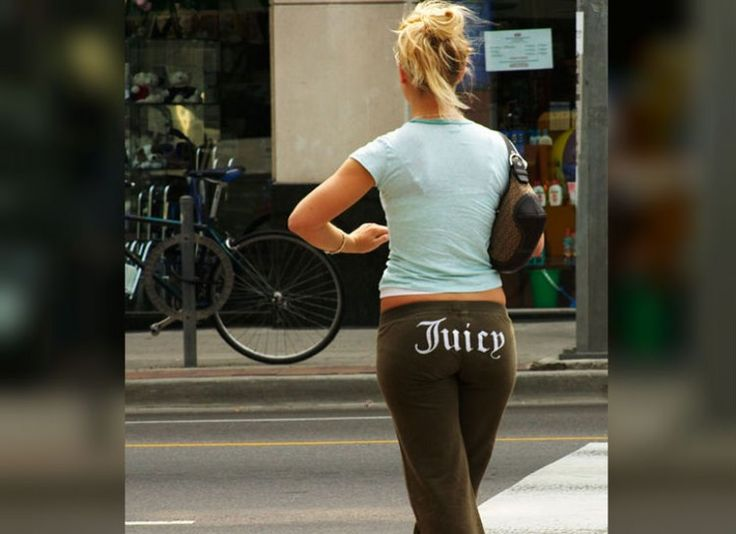 12 Reasons To Hope Early 2000s Fashion Doesn't Come Back - sport trousers with letters on back