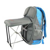 Le sac à dos avec chaise pliante intégrée