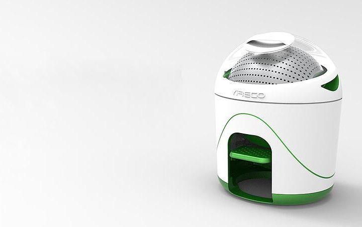 Drumi - Die Mini-Waschmaschine für Studenten