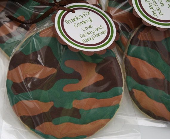 CAMO COOKIES   Camouflage Sugar Cookies with by PartiesandPastries
