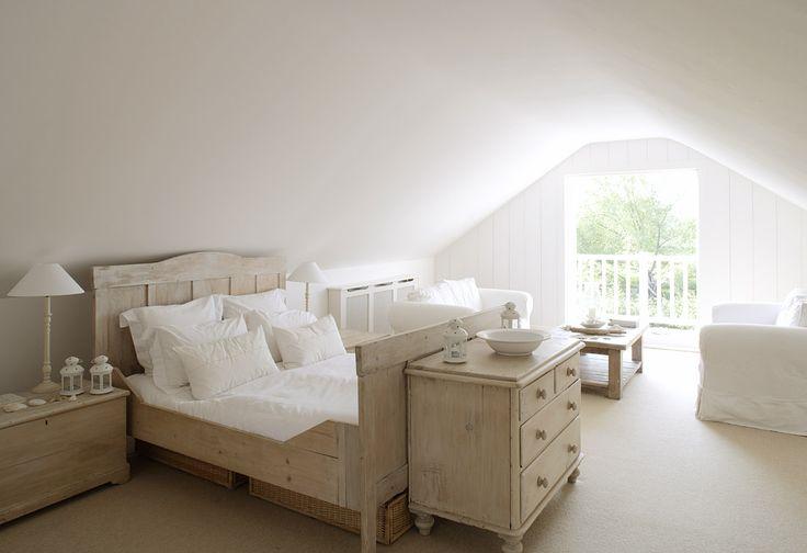 Attic Bedroom - Dresser at foot of bed