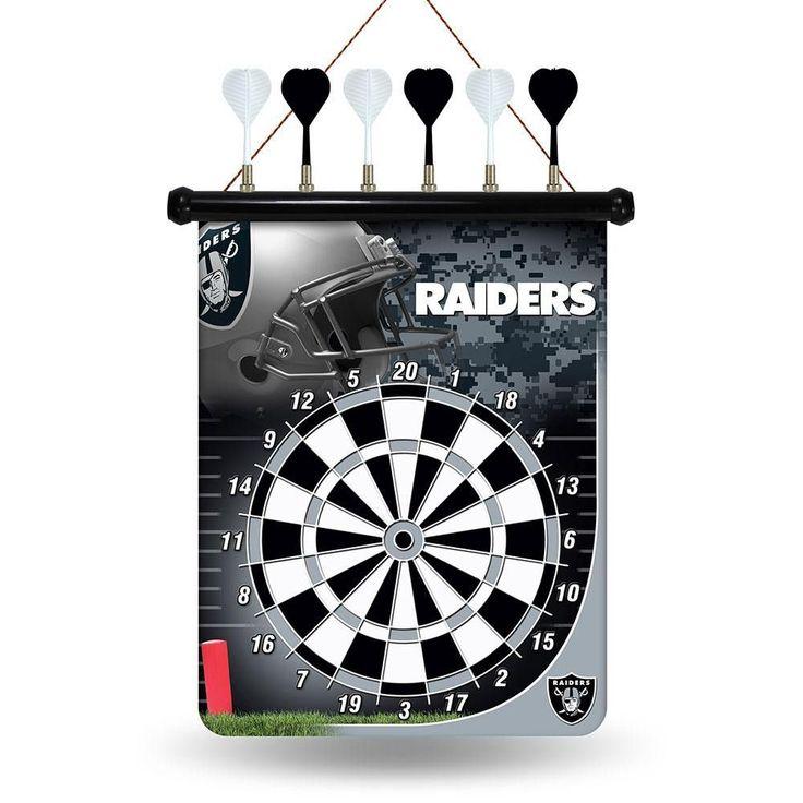 Oakland Raiders NFL Magnetic Dart Board