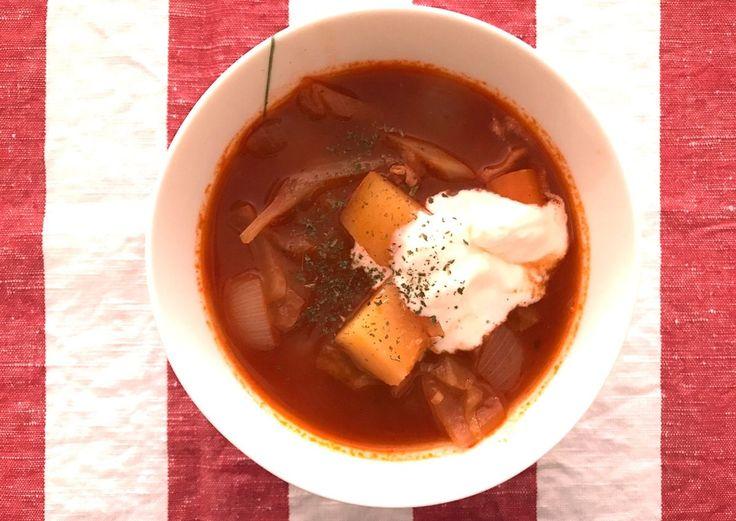 ボルシチ風トマトスープ « SAKURA KITCHIN
