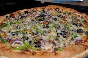 No Rise Pizza Crust