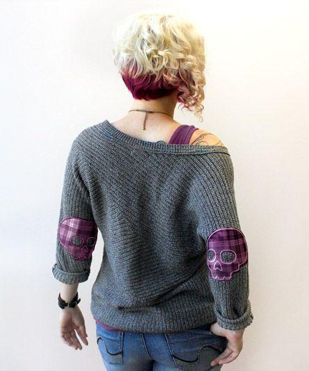 Urban Threads: Applique Elbow patch