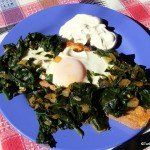 Turkish Recipes: Spinach With Eggs – An Ode to Spinach