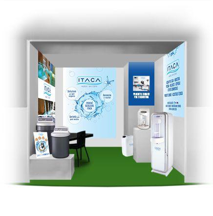 The beautiful stand ITACA. see more on www.tecnostudi-comunicazione.it