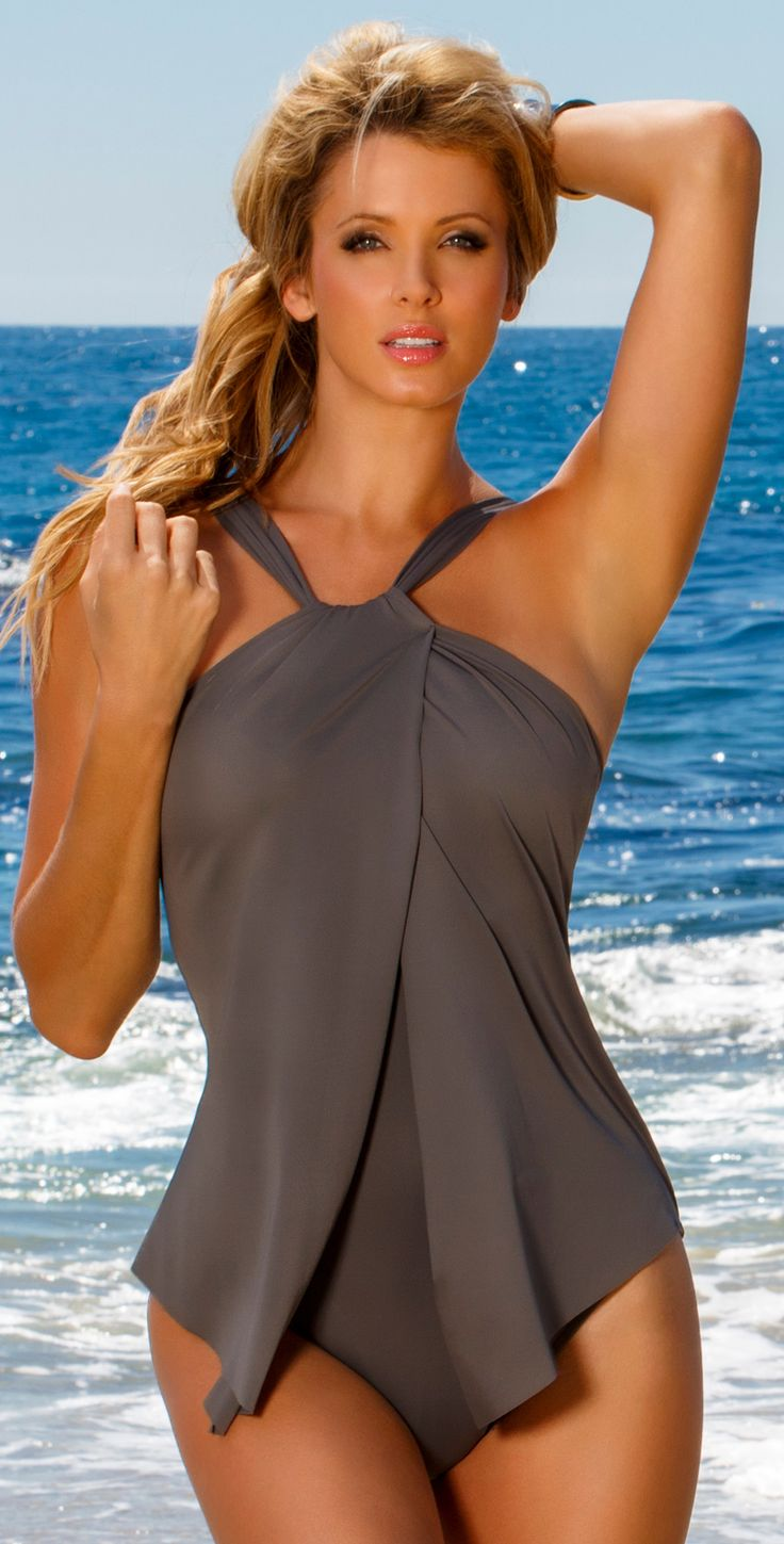 Magicsuit 2014 Tara Stone Bridge Tankini Swimsuit 475684 | Southbeachswimsuits