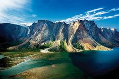 Torngat Mountains National Park in Newfoundland, Canada - parks Canada recommends a hiring a trained Inuit polar bear guard when hiking in the park.